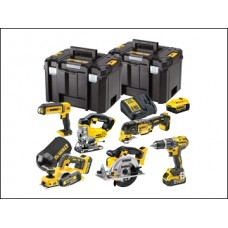DCK665P3T XR Compact 6 Piece Wood Working Kit 18 Volt 3 x 5.0Ah Li-Ion